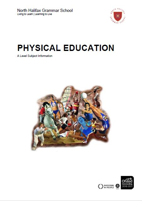 Physical Education A Level Course Flyer, NHGS Sixth Form